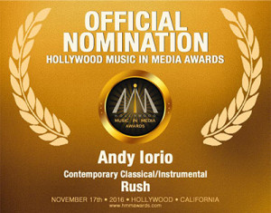 Andy Iorio - Hollywood Music in Media Awards 2016