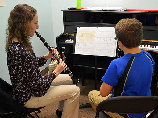 Tommy Vollmer Music Student of the Month October