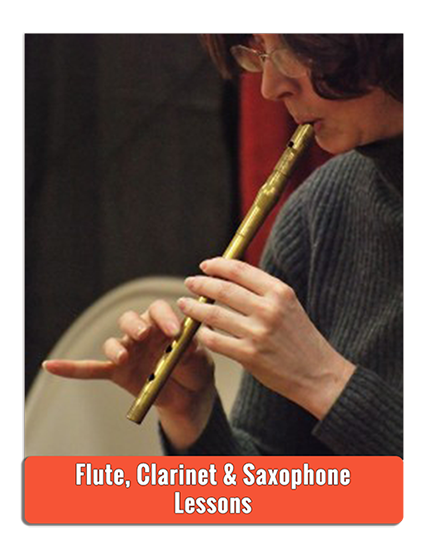 Private Clarinet Flute Sax Lessons - Photo by Andy Iorio