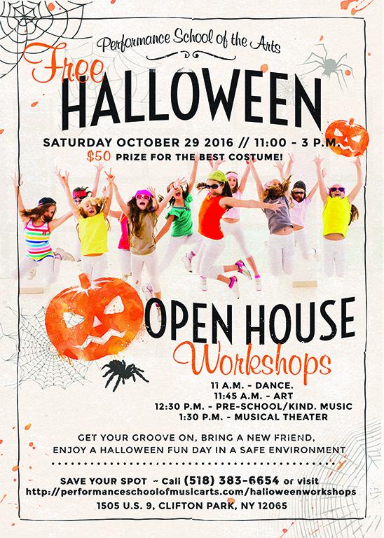 Halloween Open House Workshop