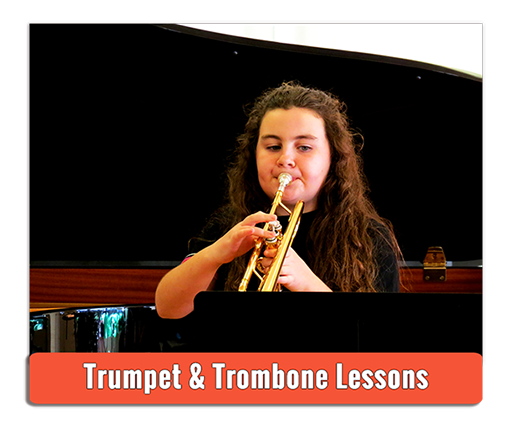 Private Trumpet and Trombone Lessons - Photo by Andy Iorio