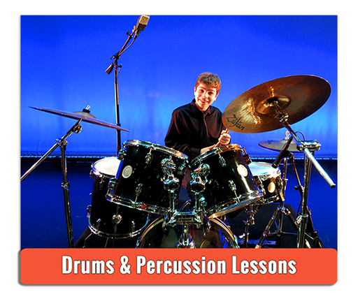 Private Drums and Percussion Lessons - Photo by Andy Iorio
