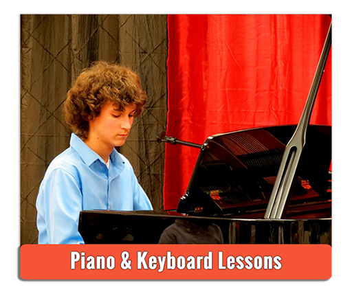 Private Piano Lessons - Photo by Andy Iorio