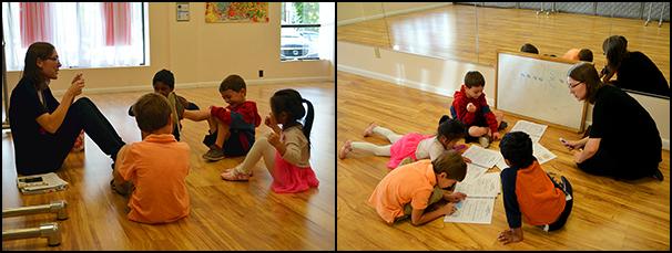 Preschool Music Class 1 - Photo by Chelsea Schadewald