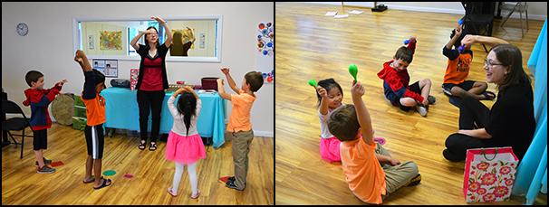 Preschool Music Class 2 - Photo by Chelsea Schadewald