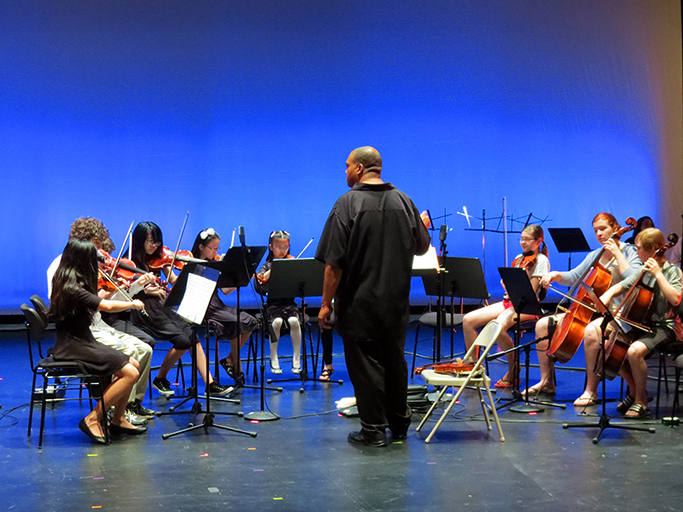 Strings Recital - Photo by Andy Iorio