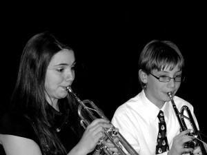 Trumpet & Trombone Lessons - Photo by Andy Iorio